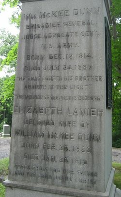 Elizabeth Frances <I>Lanier</I> Dunn
