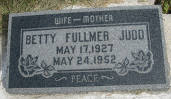 Betty Larene <I>Fullmer</I> Judd