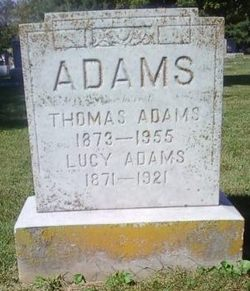 Lucy <I>Pollitt</I> Adams