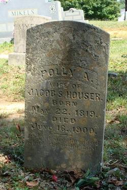 Polly A. <I>Headrick</I> Houser