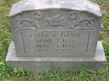 Eliza <I>McKeehan</I> Davis