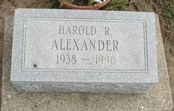 Harold Ray Alexander