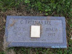 C Freeman Lee