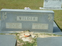 Oliver Eugene Wilder