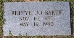 Bettye Jo Baker