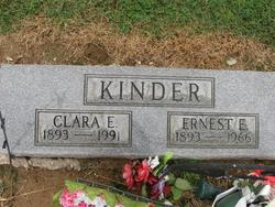 Clara Ellen <I>Shumate</I> Kinder
