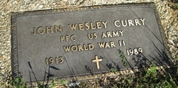 PFC John Wesley Curry