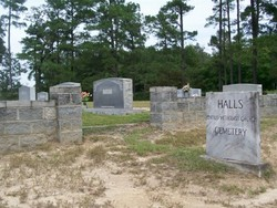 Halls United Methodist Church Cemetery