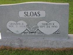 Shirley R. Sloas