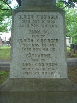 """Ulrich """"Woolrich"""" Kissinger"""