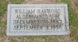 Dr William Haywood Alderman