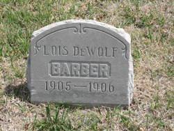 Lois <I>DeWolf</I> Barber