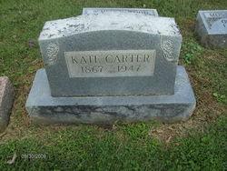 Katherine <I>Stice</I> Carter