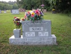 Mary Etta <I>Jordan</I> Sloas