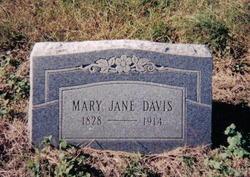 Mary Jane <I>Doss</I> Davis