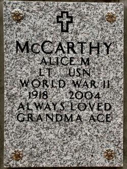 Alice Mary McCarthy
