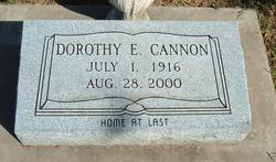 Dorothey <I>Cogburn</I> Cannon