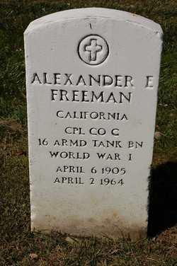 Alexander Edgar Freeman