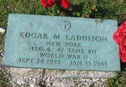 Edgar M Laddison