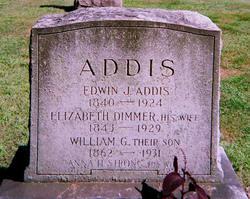 Elizabeth <I>Dimmer</I> Addis
