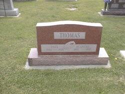 Blanche E <I>Dillinger</I> Thomas
