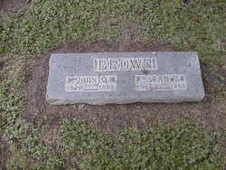 Sarah <I>Vandeveer</I> Brown