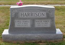 Maude <I>Vance</I> Harrison
