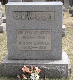 Sarah <I>Milliken</I> Bowser