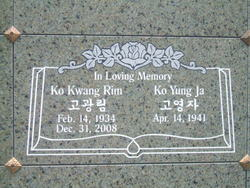 Kwang Rim Ko