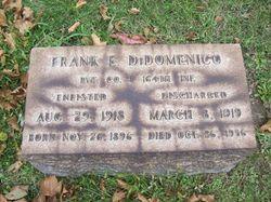 Frank E DiDomenico