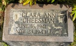 Clara Ann Cheesman