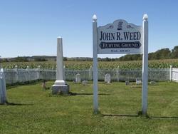John R. Weed Burying Ground