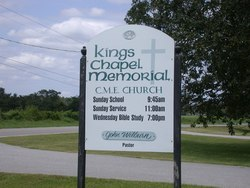 Kings Chapel Memorial CME Church Cemetery