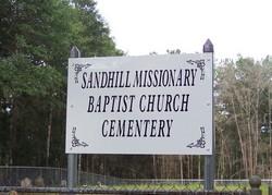 Sandhill Missionary Baptist Church Cemetery