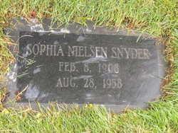 Sophia Charlotte <I>Nielsen</I> Snyder