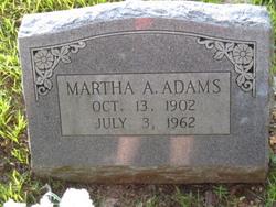 Martha A Adams