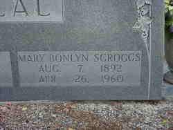 """Mary Bonlyn """"Bonnie"""" <I>Scroggs</I> Beal"""