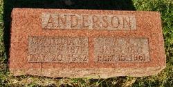 Matildia Tennie <I>Baker</I> Anderson