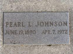 Pearl Leona <I>Horton</I> Johnson