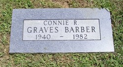Connie R <I>Graves</I> Barber