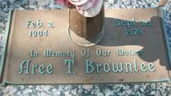 Aree T Brownlee