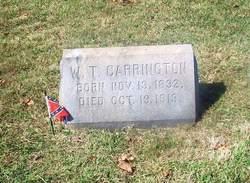 Capt William Tucker Carrington