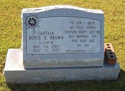 Capt Boyce Eugene Brown