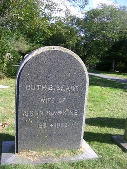 Ruth Barker <I>Sears</I> Simpkins