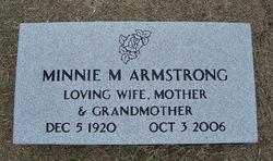 Minnie Mable <I>Shipman</I> Armstrong