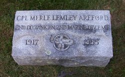 Corp Merle Lemley Areford