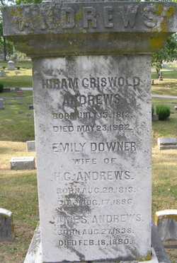 Emily <I>Downer</I> Andrews