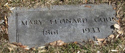 Mary <I>Leonard</I> Cook