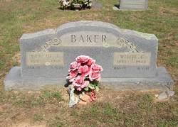 Willie Geneva <I>Hicks</I> Baker