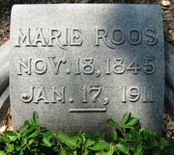 Marie <I>Levy</I> Roos